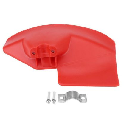 Brush Cutter Guard Garden Tools Grass Trimmer Shield Durable Weeder Machine Cover Red Protection Baffle For 26 28mm Dia. Shaft