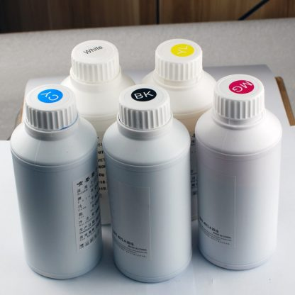 5*500ML / 5*1000ML Textile InK Garment DTG Ink For DX5 DX6 DX7 DX10 Printhead For Tshirts Clothes Printing