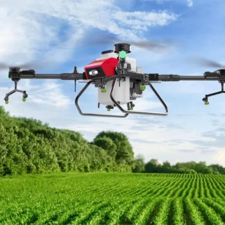 H20 20L agricultural drone flight platform full carbon fiber folding frame 8 nozzles high efficiency with power system