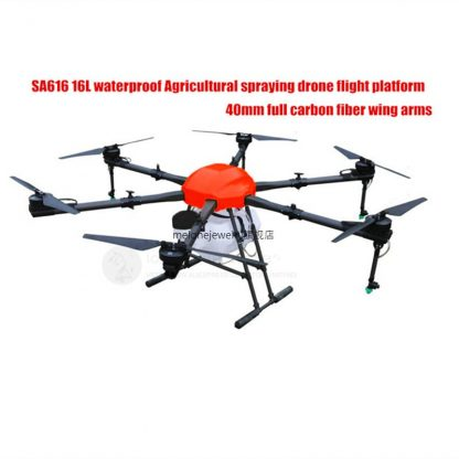 SA616 16L Agriculture Spraying Drone 16KG 1650mm 6 Axis Hexa